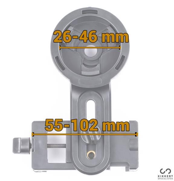 KSO cortex universaladapter for smarttelefon (standard)